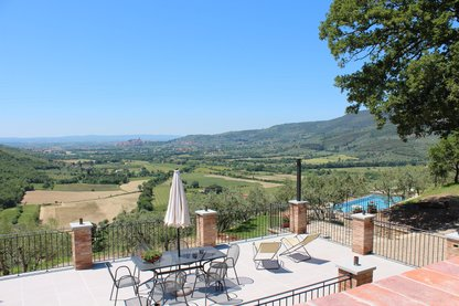 Toscana, Fantasic Villa WOW views , for 2 - 6 guests